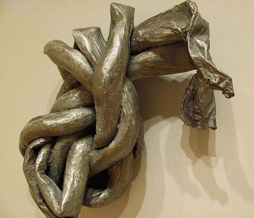 Lynda Benglis 'Lambda' (1973) aluminum