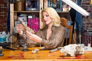 Beth Beverly at work.