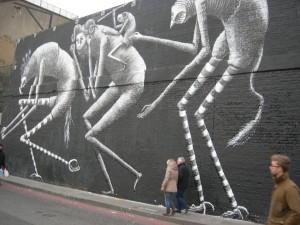 street art nearby in Shoreditch
