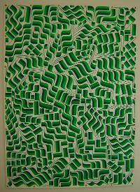 """Isaac Lin, """"Green and Green."""""""
