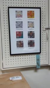 """Code,"" DoN Brewer (Ink Jet Print/ QR Code)"