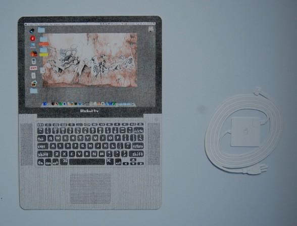 "Mia Rosenthal, ""MacBook Pro (Scott)."""