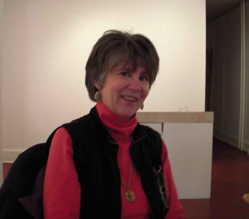 Michelle Post, speaking with us Jan. 31 at DaVinci Art Alliance.