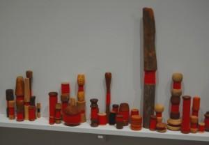 "A closeup of Spector's installation ""Mariposa."""