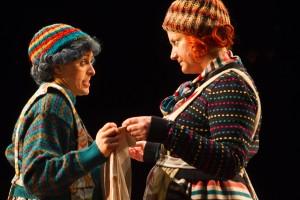 Mary Murray and Sorcha Fox in Tiny Plays 2, photo: Pat Redmond