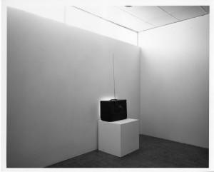 "Douglas Davis, ""Images from the Present Tense,"" 1971. Institute of Contemporary Art, University of Pennsylvania."