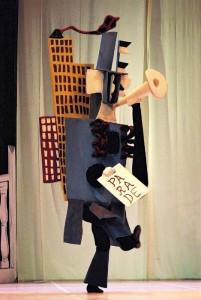 Pablo Picasso costume for 'Parade'