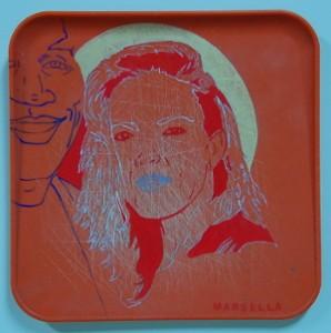 """Marcella Marsella, """"Portrait of Nicole Brown."""""""