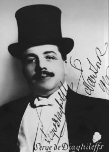 Serge Diaghilev, photographed by Jan de Sterleki (1916)