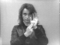 Valie Export, Visual Text Finger Poem, 1968-1973