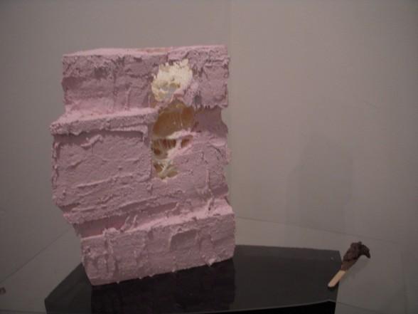 Alexi Kukuljevic's sculpture at Marginal Utility