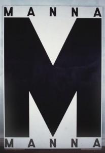 "David Salle chose Annette Lemieux's MANNA (1984) for the ""3 Artists Choose 3 Artists,"" exhibition at Artist Space, 1984."
