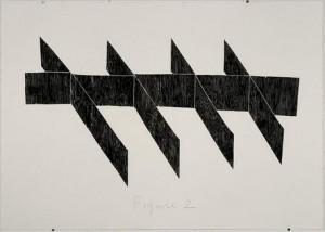 "Abigail Patterson, Untitled (Figure 2), 2011, collage, 29"" x 41"""
