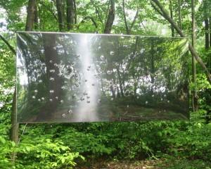 Margaret Evangeline 'Gunshot Landscape (2004) The Fields Sculpture, Omi, NY