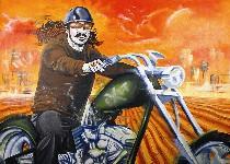 """Rah Crawford's """"Last Ride""""."""