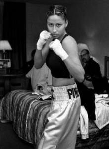 "Delilah Montoya, Elizabeth ""Pink Panther"" Monge, Farmington NM, 2003"