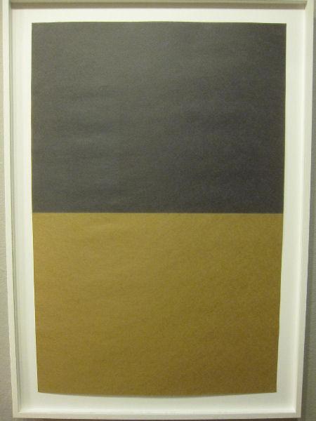 Bill Gerhard, 08.05, sun-faded paper