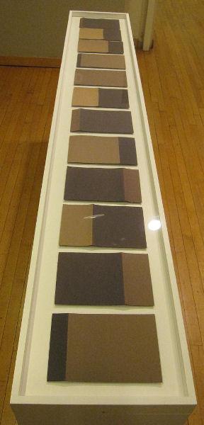Bill Gerhard, 01.11, 02.11, 03.11, 04.11, 05.11, 6.11, 07.11, 08.11, 09.11, 10.11, 11.11, 12.11, sun-faded paper