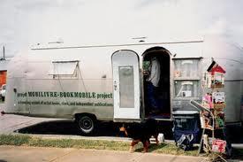 The Bookmobile in its full glory. Photo: Designsquish.com.