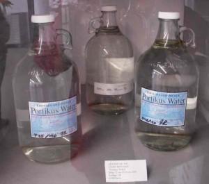 Jason Rhoades, 2001, Portikus Water, at Portikus