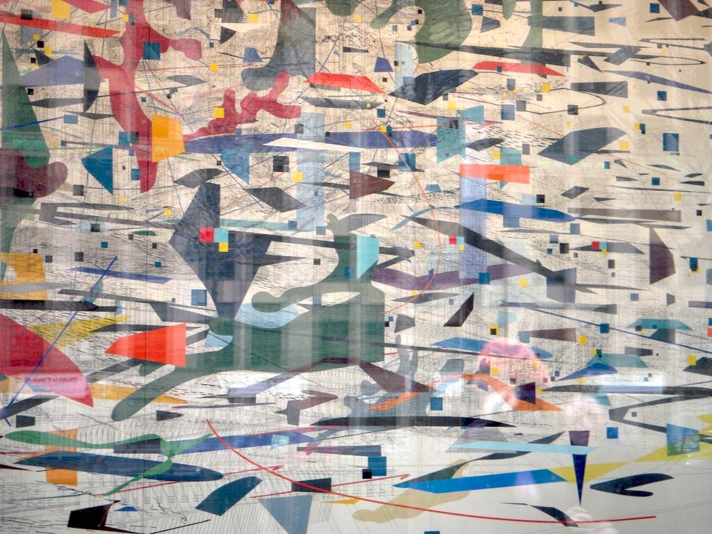 Artblog   Scene downtown – Julie Mehretu's mural and Skin ...
