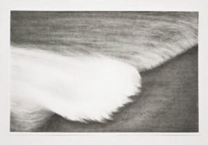 """""""Repossession,""""  2012, graphite on paper, 12.5"""" x 19"""""""