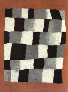 Paul Klee 'Rythmical' (1930), oil on canvas, Centre Pompidou