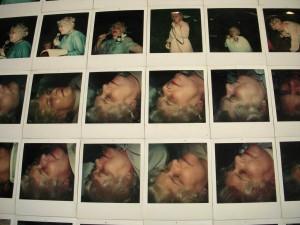 Rob Matthews, found Polaroid photos, at Tiger Strikes Asteroid