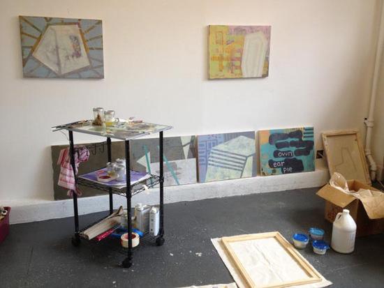 Sharon Butler Studio at the Elizabeth Foundation, 2013.