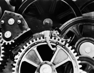 Charlie Chaplin 'Modern Times' (1936)
