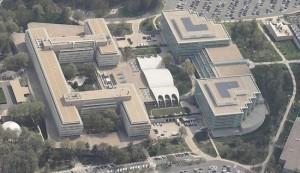 C.I.A. headquarters at Langley, VA.