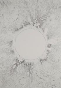 """Heliotrope, 2013, 30"""" x 44″"""