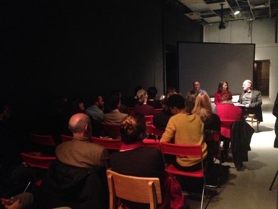 A conversation at Slought Foundation took place on December 6th between Thierry de Duve, Soun-Gui KIm, and Jean Michel Rabaté.