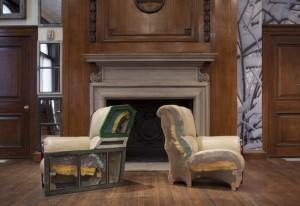 Furniture, installation detail. Photo courtesy of Matt Suib/Greenhouse Media