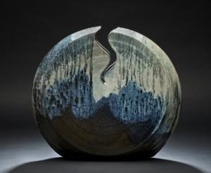 Willi Singleton, Woodfired functional stoneware, Photograph by Ken Ek
