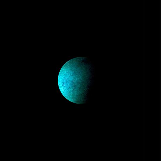 "Jeffrey Jekins, Blue Green Moon. From ""Hudson Orbitals."""