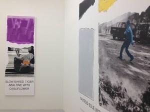 "John Baldessari, ""Morsels and Snippets,"" Mai 36 Galerie, 2013"