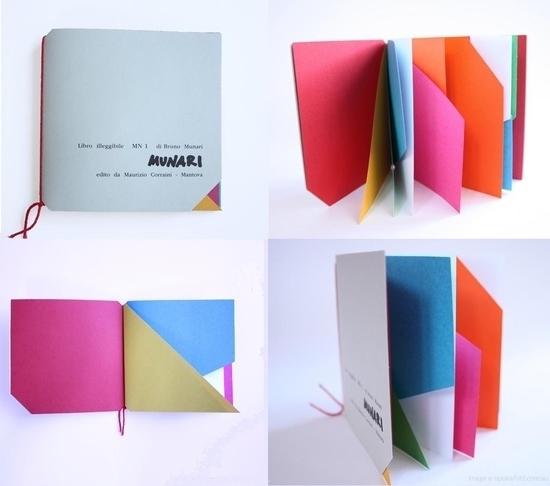 Bruno Munari 'Libro Illeggibili MN 1'