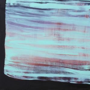"""Sean Robert FitzGerald, Untitled, 2013, Oil on canvas, 46 x 46""""."""
